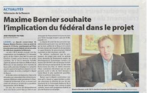Appui de Maxime Bernier